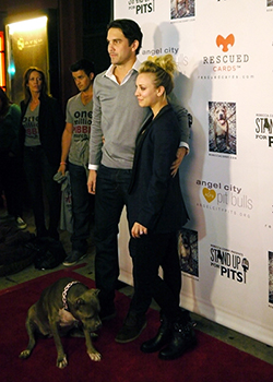 """Pet World Insider """"On the Red Carpet"""" – Kaley Cuoco @ The Stand Up For Pits Foundation L.A. Event"""