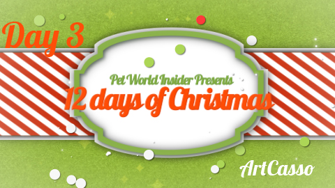 Twelve Days of Christmas – Day Three – Pet Product TV – Art-Casso – Unleash Your Pet's Inner Artist