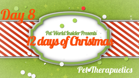 Twelve Days of Christmas – Day Eight – Pet Product TV – Pet Therapeutics – Therapeutic Pet Comfort