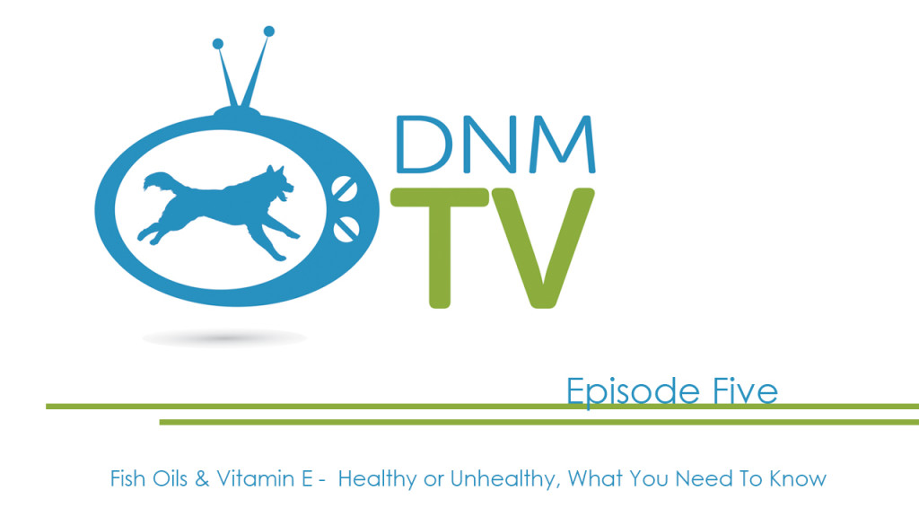 Dogs Naturally Magazine TV – Fish Oils & Vitamin E – Healthy or Unhealthy, What You Need To Know