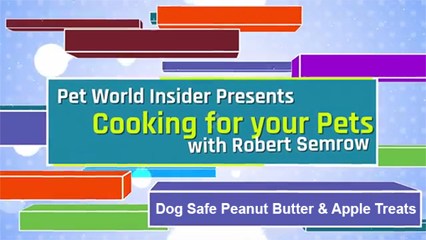 Cooking For Your Pets – Dog Safe Peanut Butter & Apple Dog Treats – Pet World Insider